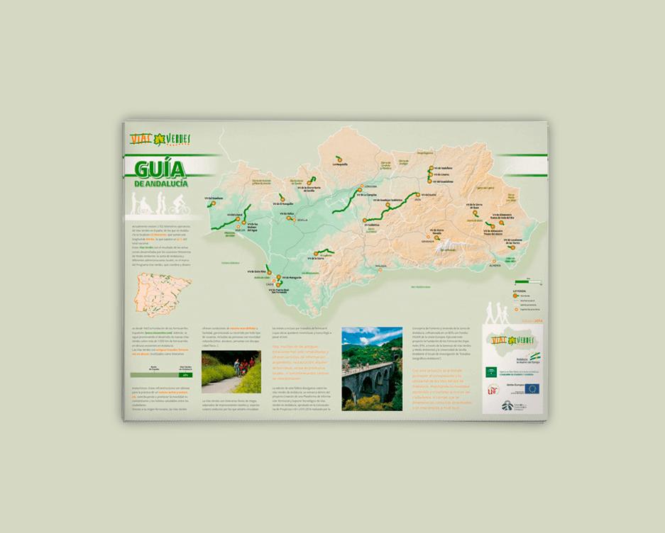 Guía de Vías Verdes de Andalucía