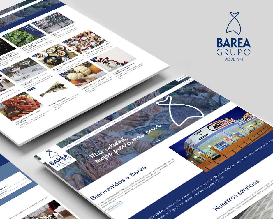 web de Barea Grupo
