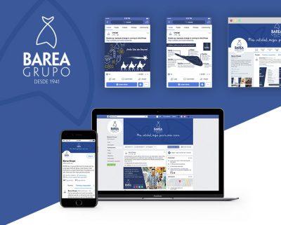 Redes Sociales de Barea Grupo