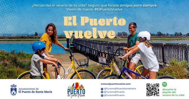 Fotografía de la campaña #ElPuertoVuelve desarrollada por Descubre Comunicación para Turismo de El Puerto de Santa María.