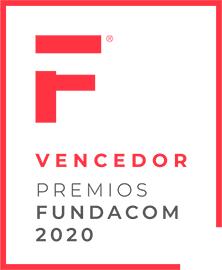 Sello vencedor Premios Fundacom 2020