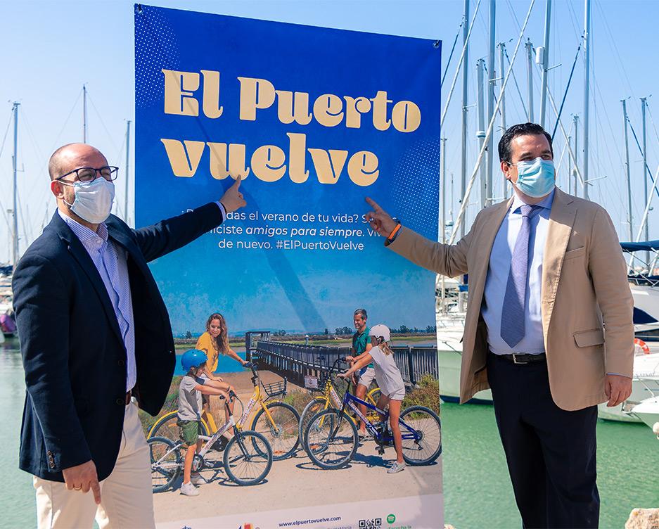 Presentación de la campaña El Puerto Vuelve