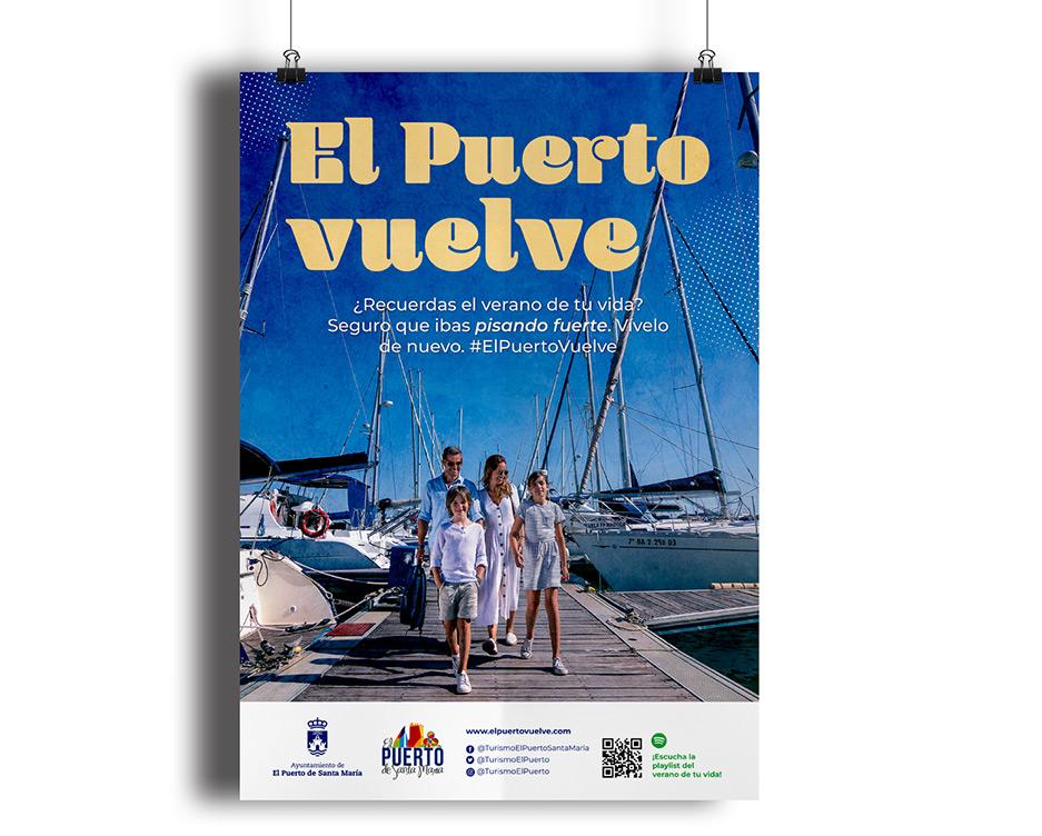 Cartel de El Puerto Vuelve