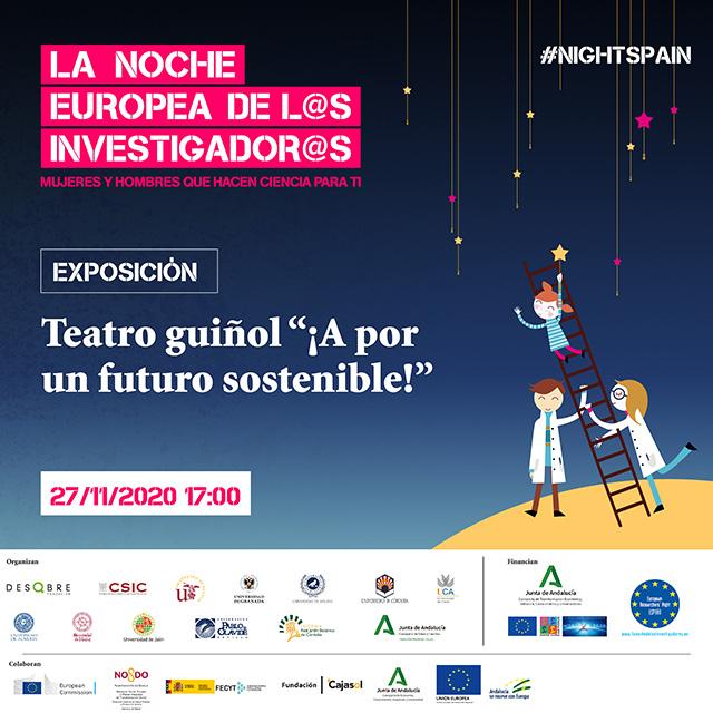Gráfica de la Noche Europea de los Investigadores