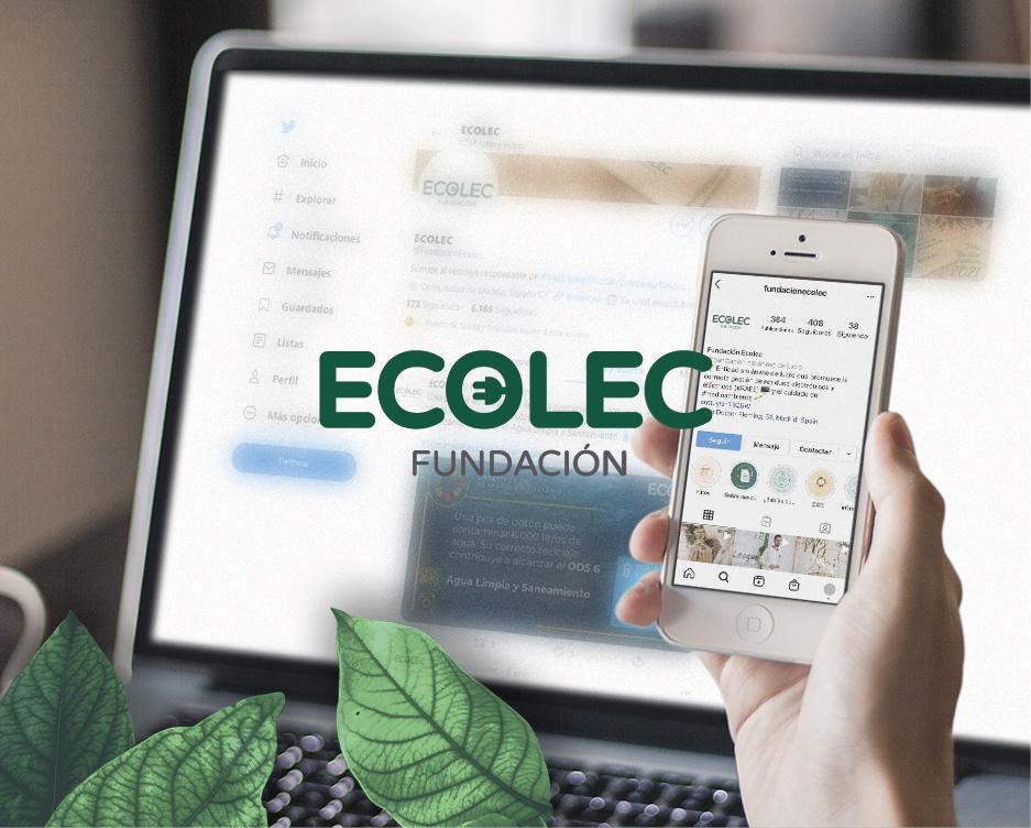 Ecolec. Redes sociales